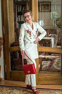Iné oblečenie - Jarný kostým s aplikáciou-ZĽAVA 20%!!! - 9295374_