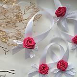 Darčeky pre svadobčanov - Stužky na fľaše - Folk - 9294149_