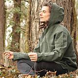 Oblečenie - Mikina Gorjanin zelená