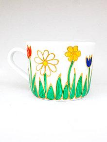 Nádoby - Jarný hrnček na kávičku 2 - 9301225_