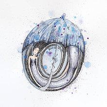 Kresby - v daždi - 9300713_