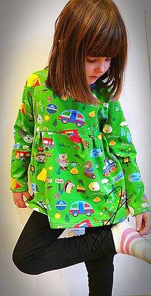 Detské oblečenie - Tuniko - šatičky veselý les ;) - 9301315_