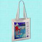 Nákupné tašky - Opitá chobotnica/ #bumpkinovejtaška - 9301270_