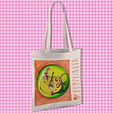 Nákupné tašky - Nechutné jedlo/ #bumpkinovejtaška - 9301370_
