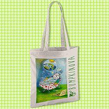 Nákupné tašky - Horúci kúpeľ/ #bumpkinovejtaška - 9301485_