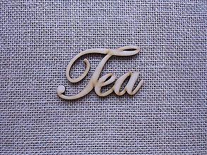 Polotovary - Výrez z preglejky - Tea, 9 cm - 9301029_