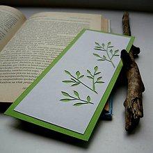 Papiernictvo - Konáriky zelené... - 9300417_