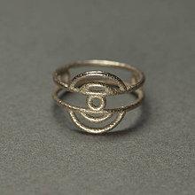 Prstene - Slnko medzi mrakmi - Poproč - 9302906_