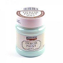 Farby-laky - Dekor Paint Soft -230 ml- mätovozelená****** - 9302621_