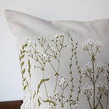Úžitkový textil - Vankúš - trávy - 9300927_