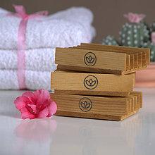 Nádoby - mydlovnička - brezové drevo - 9300779_