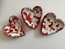Nádoby - Malé srdcové misky - 9299930_