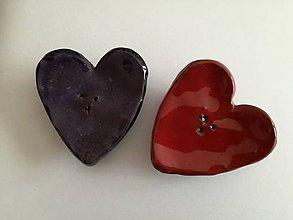 Nádoby - Maličká srdcová mydelnička - 9299937_