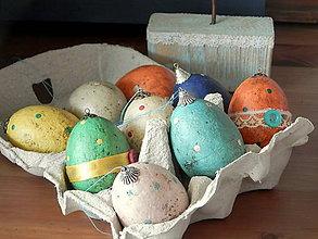 Dekorácie - Veľkonočné vajíčka - 9299228_
