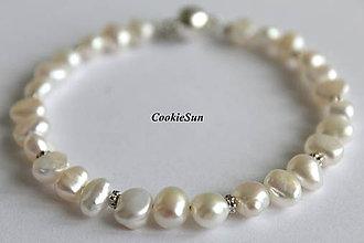 Náramky - Náramok River Pearls - 9298861_