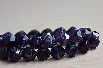 "Minerály - Ametyst ""diamant"" 10mm, 0.55€/ks - 9300325_"
