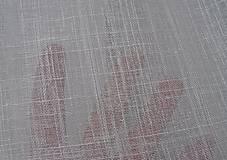 Textil - záclonovina bavlna/ľan - 9300213_