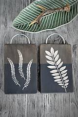 Pomôcky - Sada lopárov s rastlinným motívom - 9301635_