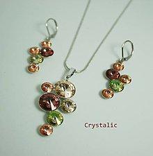 Sady šperkov - Súprava s Swarovski crystals - 9303450_