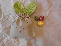 Úžitkový textil - Vrecko zajko - 9304249_
