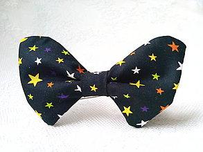 Náhrdelníky - Hviezdičkový dámsky motýlik - 9306060_
