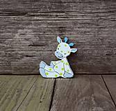 Magnetky - žirafka - 9304874_