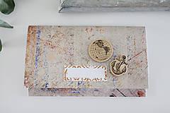 Papiernictvo - Scrapbook obálka na peniaze - 9304246_