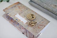 Papiernictvo - Scrapbook obálka na peniaze - 9304247_