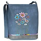 Veľké tašky - 910 - namodralá - 9304040_