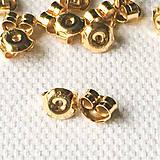 Komponenty - 24 k žltým zlatom pozlátené strieborné motýliky Ag 925, kus - 9306464_
