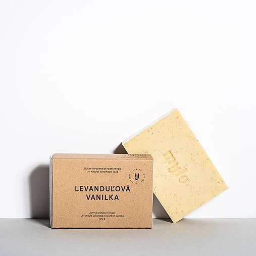 Drogéria - Jemné pílingové mydlo s vanilkou a levanduľou - 9306914_