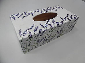 Krabičky - Krabička na papierové vreckovky - podstava obdĺžnik - 9306814_