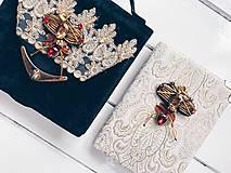 Papiernictvo - Šperk alebo zápisník - 9304317_