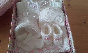 Detské súpravy - Súprava pre novorodenca - 9303934_
