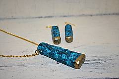 """Sady šperkov - sada šperkov """"zlatý azúr"""" - 9305168_"""