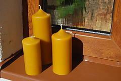 Svietidlá a sviečky - Sviečka valec - 9304509_