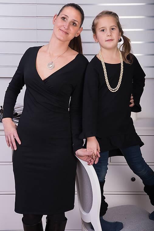 Čierne elegantné šaty na každú príležitosť   miracles.style - SAShE ... a52882dda3d