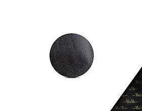 Iné doplnky - Puzdro na doklady a karty z pravej kože VALENTÍNKA (Čierna) - 9303323_