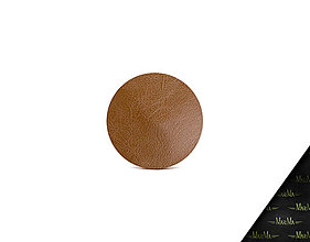 Iné doplnky - Puzdro na doklady a karty z pravej kože VALENTÍNKA (Hnedá) - 9303324_
