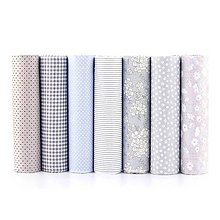 Textil - Sada látok sivá elegancia - 9306954_