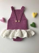 Detské oblečenie - Detské body Balerína / Bodysuit Ballerina - 9305318_
