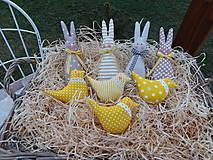 - Zajačiky a vtáčiky - veľkonočné ozdoby - 9305182_