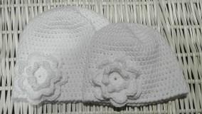 Detské čiapky - bielunké - 9306280_