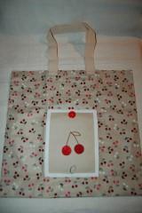 Nákupné tašky - čerešnička - 9306726_