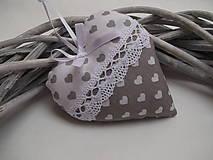 Darčeky pre svadobčanov - Svadobné srdiečká - 9305778_