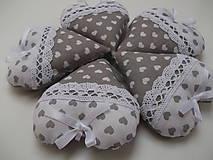 Darčeky pre svadobčanov - Svadobné srdiečká - 9305789_