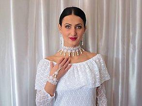 Sady šperkov - Krajková súprava VII - 9304088_