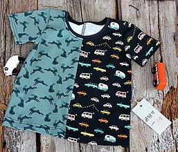 Detské oblečenie - dětské/auta+zajíci(vel.98) - 9309933_