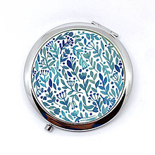 Zrkadielka - Zrkadielko - modré kvietky - 9307328_