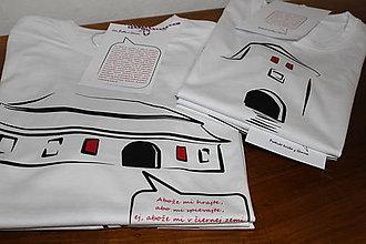 Tričká - Poetické tričká z Gemera - 9310901_